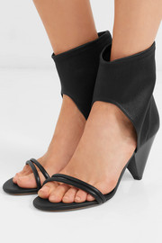 Melvy leather sandals