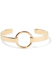 Nirvana gold-plated cuff