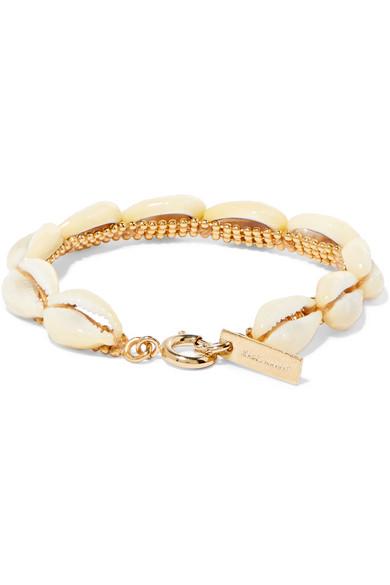 b07b67f5098 Isabel Marant   Gold-tone shell bracelet   NET-A-PORTER.COM