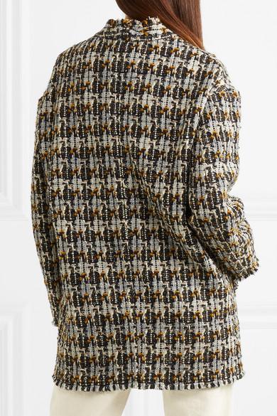 Isabel Marant Jamsy Tweed-Jacke aus einer Wollmischung 2018 Auslaß Preise Im Netz Versand Rabatt Verkauf Billig Verkaufen Neu G46IepVUn