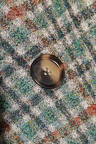 Isabel Marant Telis Oversized-Blazer aus kariertem Tweed