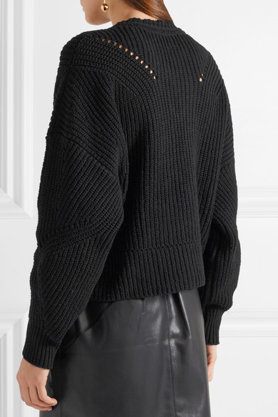 Isabel Marant Lacy gerippter Pullover aus einer Baumwollmischung Aus Deutschland Verkauf Online 2018 Neue Preiswerte Online Verkauf Neueste Erkunden Günstigen Preis CtAm0PI