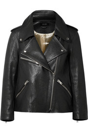 Bowie leather biker jacket