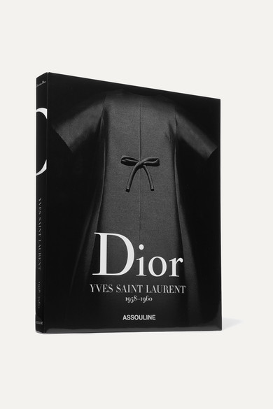 ASSOULINE DIOR BY YVES SAINT LAURENT 1958-1960 BY LAURENCE BENAÏM HARDCOVER BOOK