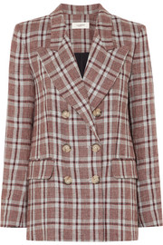 Isabel Marant Étoile Ianey checked linen blazer
