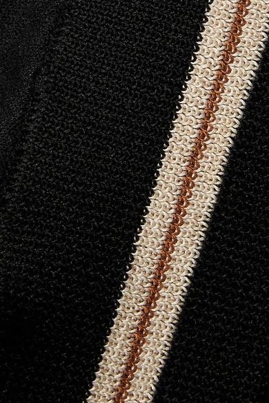 Isabel Marant Étoile Darcy Trainingsjacke aus Stretch-Strick mit Streifen