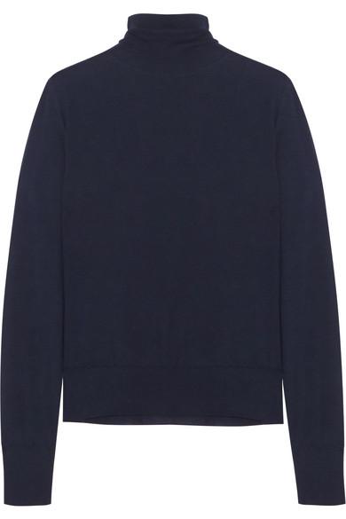 Bottega Veneta - Merino Wool Turtleneck Sweater - Navy