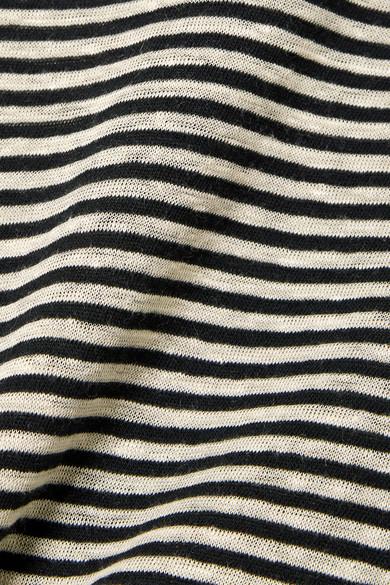 Isabel Marant Étoile Kaaron gestreiftes Oberteil aus einer Leinen-Baumwollmischung Rabatt Für Schön Auslass Sneakernews Billig Freies Verschiffen Outlet-Store Kostenloser Versand FfGNCl