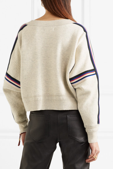 Isabel Marant Étoile Kao gestreifter Strickpullover