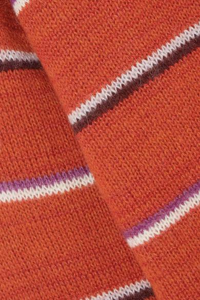 Isabel Marant Étoile Gatlin gestreifter Pullover aus einer Alpakamischung