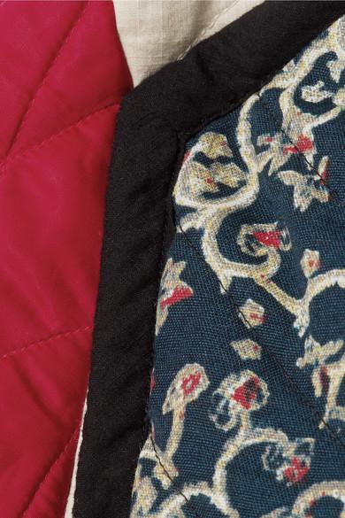 Isabel Marant Étoile Hanae wendbare Steppjacke aus Baumwolle