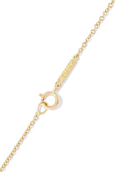 Jennifer Meyer Mrs 18-karat Gold Diamond Necklace INA6bPx