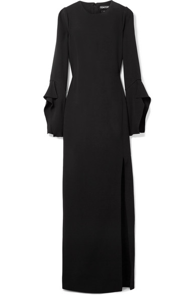 TOM FORD Robe aus Seiden-Crêpe