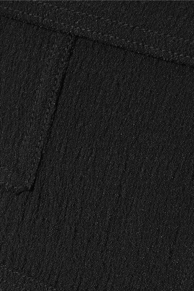 TOM FORD Kleid aus Cloqué in Patchwork-Optik