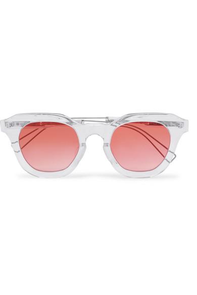 Projekt Produkt Rose Gold-Tone Sunglasses Rejina Pyo 7YAxT