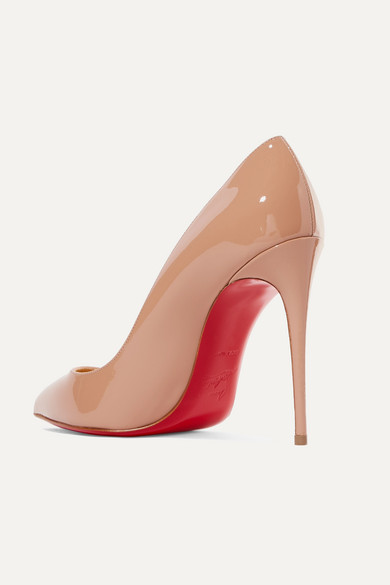 a6f24949b9d Christian Louboutin | Pigalle Follies 100 patent-leather pumps | NET ...