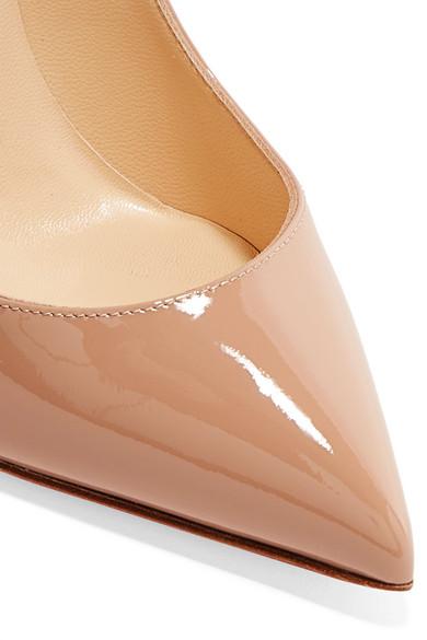 a6f24949b9d Christian Louboutin | Pigalle Follies 100 patent-leather pumps | NET ...