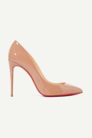 b302947e2ff Christian Louboutin. Pigalle Follies 100 patent-leather pumps