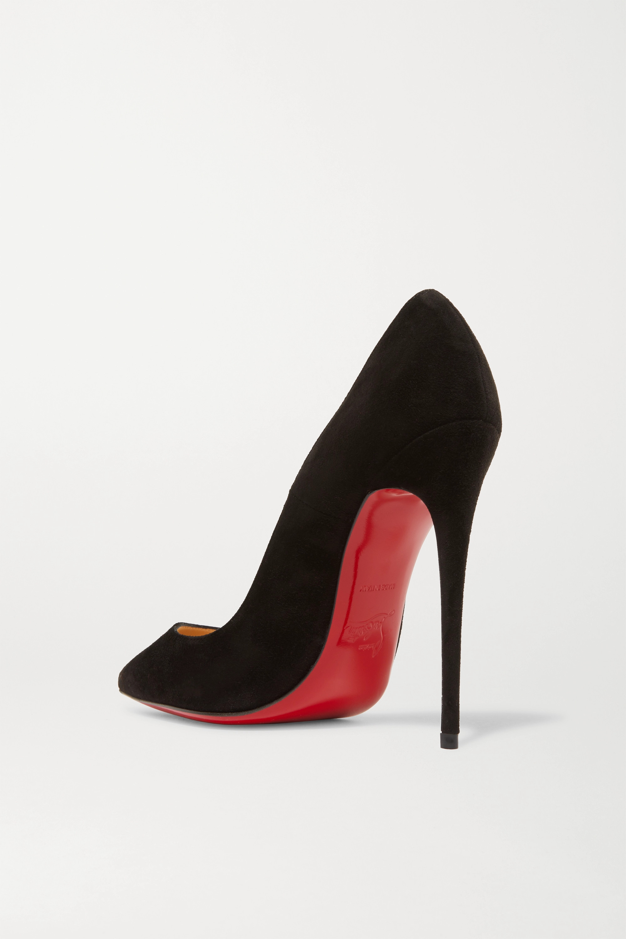 Christian Louboutin Escarpins en daim So Kate 120