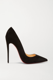 So Kate 120 suede pumps