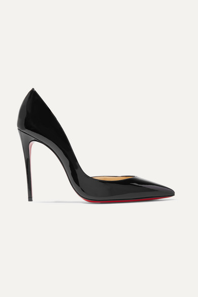 b387636db2 Christian Louboutin | Iriza 100 patent-leather pumps | NET-A-PORTER.COM