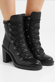 Christian Louboutin Mad 70 spiked quilted leather ankle boots
