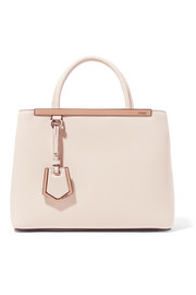 Fendi 2Jours medium textured-leather tote