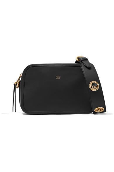 Fendi - Leather Camera Bag - Black