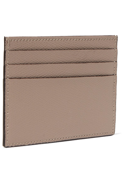 Fendi Card Case Made Of Textured Leather
