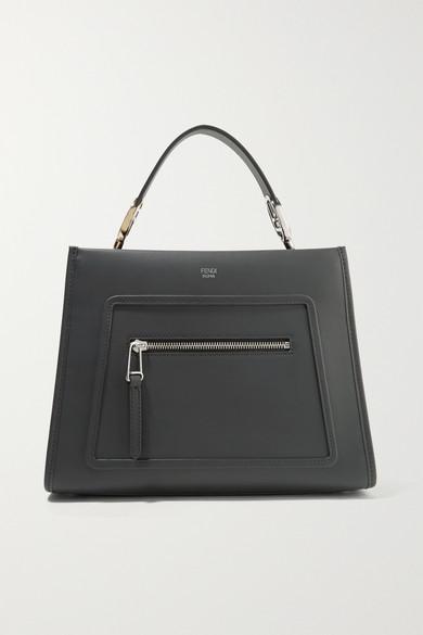 f9b36b9adbaf Fendi. Runaway small leather tote