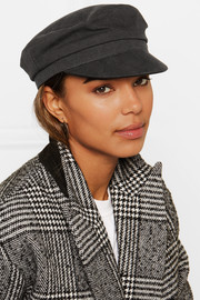 Evie cotton-canvas cap