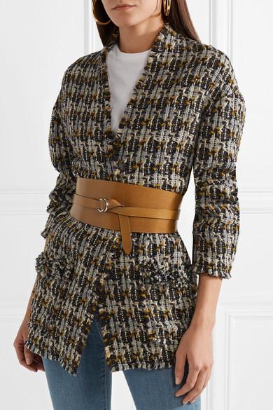 52e8daa50326 Isabel Marant. Cajou leather waist belt