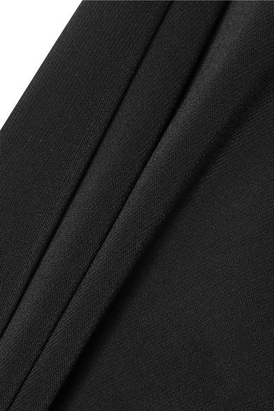 By Malene Birger Dessa Kleid aus Stretch-Ponte mit asymmetrischer Schulterpartie