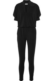 Edinno stretch-crepe jumpsuit