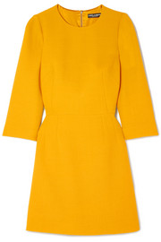 Dolce & Gabbana Wool-crepe mini dress
