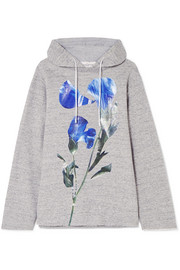 Golden Goose Deluxe Brand Loretta oversized floral-print cotton-jersey hooded top