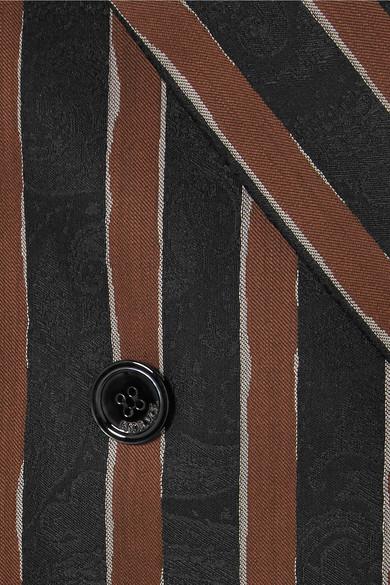 Golden Goose Deluxe Brand Virna Blazer aus Jacquard aus einer Alpakamischung mit Streifen