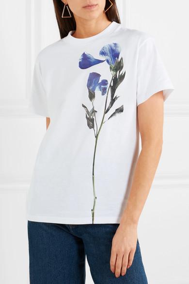 Golden Goose Deluxe Brand Bedrucktes T-Shirt aus Baumwoll-Jersey