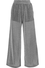 MM6 Maison Margiela Lurex wide-leg pants