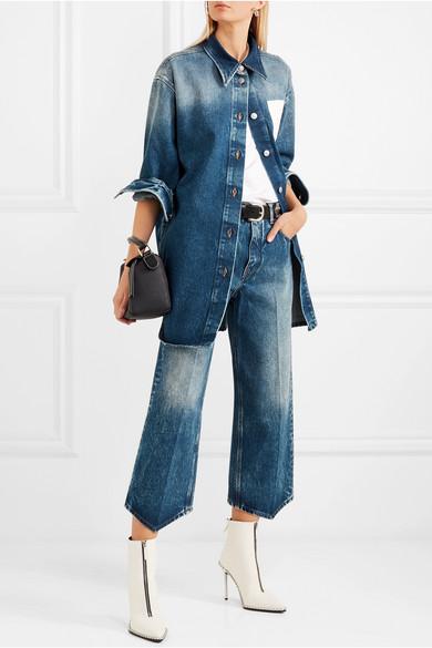 MM6 Maison Margiela Verkürzte Jeans