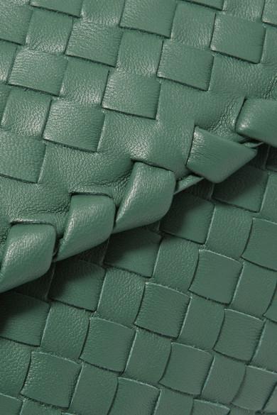 Bottega Veneta Olimpia baby Schultertasche aus Intrecciato-Leder
