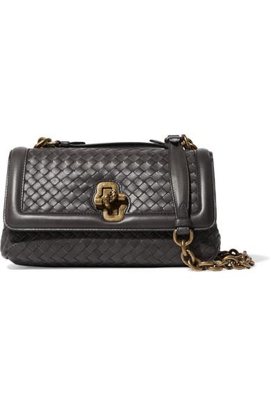 1cb0e468c316 Bottega Veneta. Olimpia Knot intrecciato leather shoulder bag