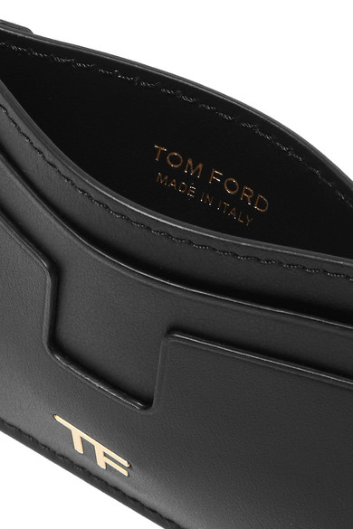 TOM FORD Kartenetui aus Leder