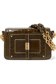 TOM FORD Sac porté épaule en alligator Natalia
