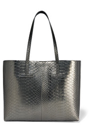 TOM FORD Sac à main en python métallisé T Small