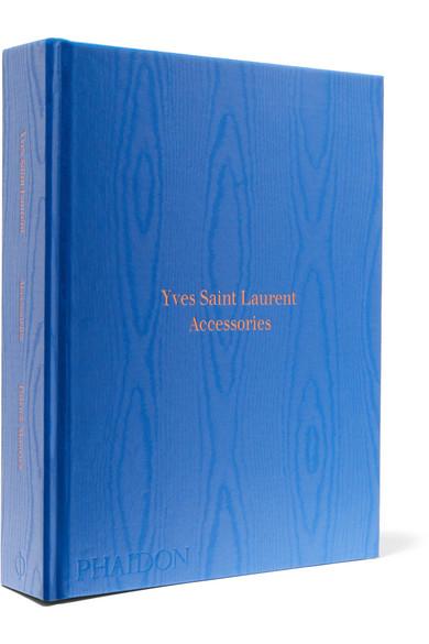 PHAIDON YVES SAINT LAURENT ACCESSORIES HARDCOVER BOOK