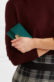 Grosvenor textured-leather wallet