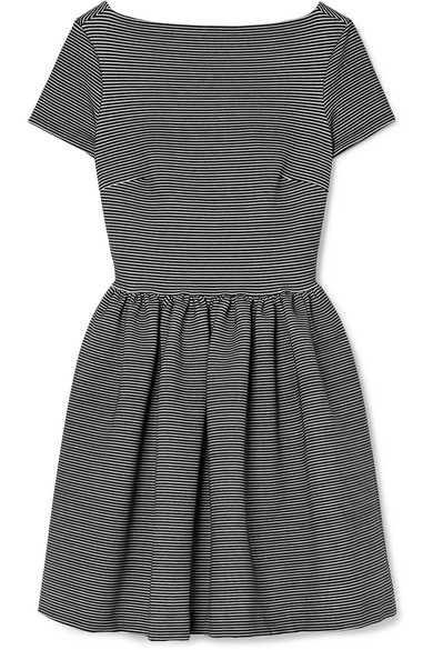 Striped knit minidress Miu Miu YtOW6IIF