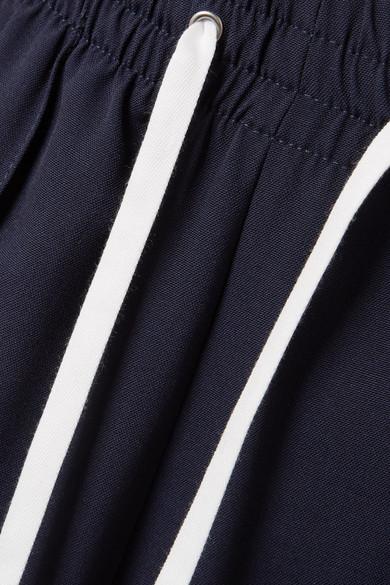 Miu Miu Hose mit weitem Bein aus einer Wollmischung