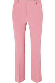 Miu Miu Cropped cady flared pants